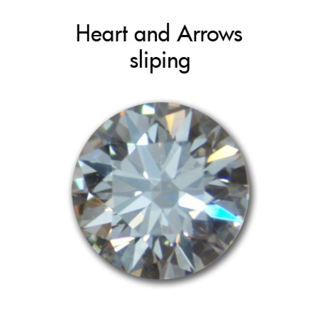 Diamant Heart and Arrows 0,50carat